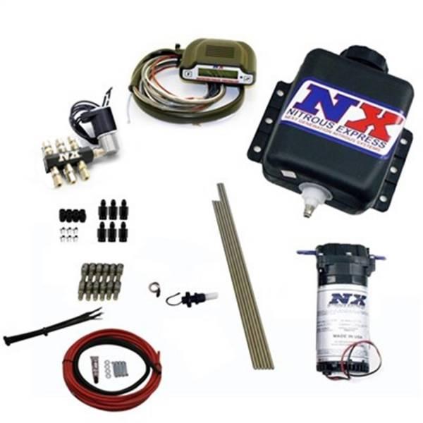 Nitrous Express - Nitrous Express Direct Port Water Methanol; 6 Cylinder Stage 3 w/Hardlines 15131H