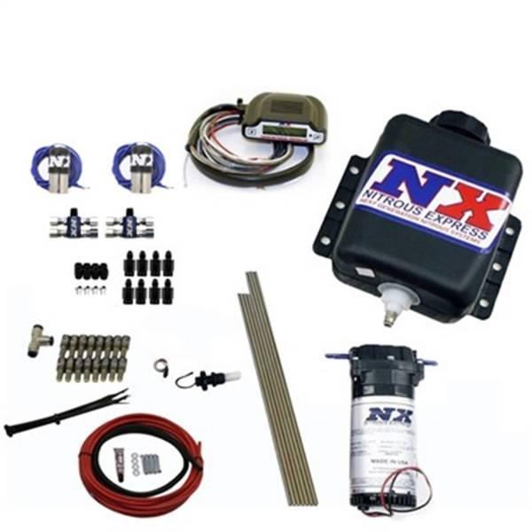 Nitrous Express - Nitrous Express Direct Port Water Methanol; 8 cylinder stage 3; w/Hardlines 15132H