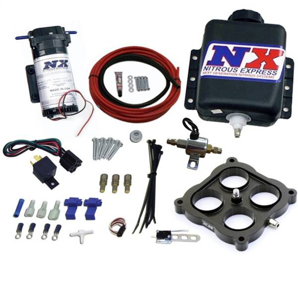 Nitrous Express - Nitrous Express WATER METHANOL; GAS CARBURETED 4500 FLANGE; STAGE 1; WOT ACTIVATED 15035