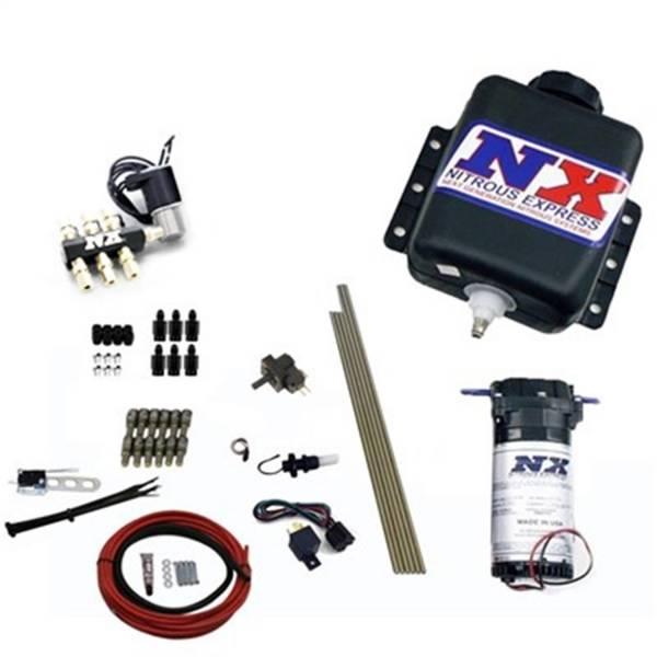 Nitrous Express - Nitrous Express Direct Port Water Methanol; 6 Cylinder Stage 1 w/Hardlines 15121H
