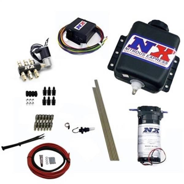 Nitrous Express - Nitrous Express Direct Port Water Methanol; 6 cylinder stage 2 w/Hardlines 15126H