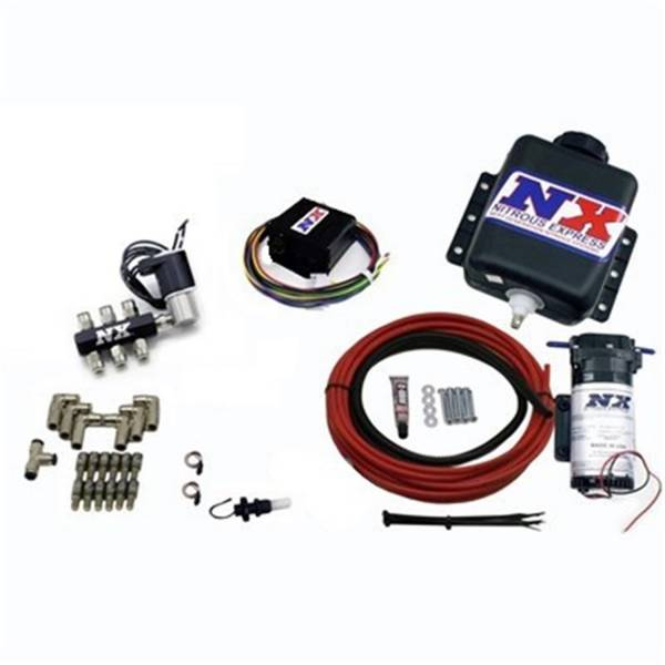 Nitrous Express - Nitrous Express Direct Port Water Methanol; 6 cylinder stage 2 15126