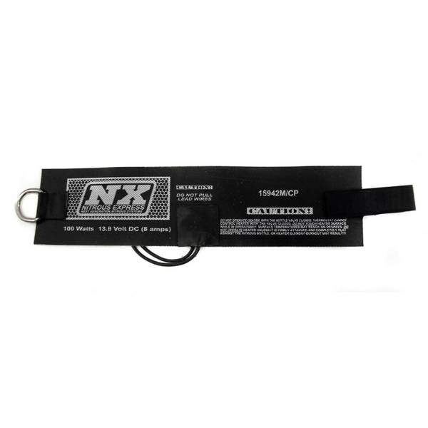 Nitrous Express - Nitrous Express MOTORCYCLE BOTTLE HEATER ELEMENT FOR 2.0 AND 2.5 LB BOTTLES 15942M/CP