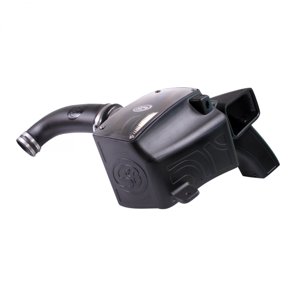 S&B - Cold Air Intake For 03-08 Dodge Ram 2500 3500 5.7L Dry Dry Extendable White S&B