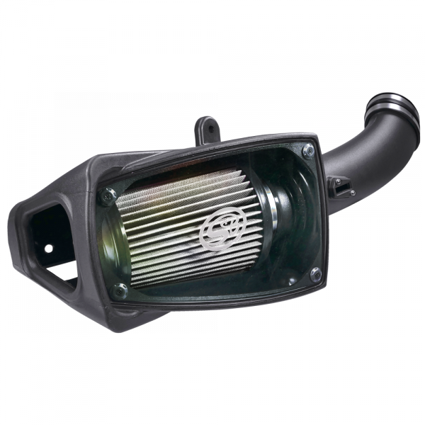 S&B - Cold Air Intake For 11-16 Ford F250 F350 V8-6.7L Powerstroke Dry Extendable White S&B