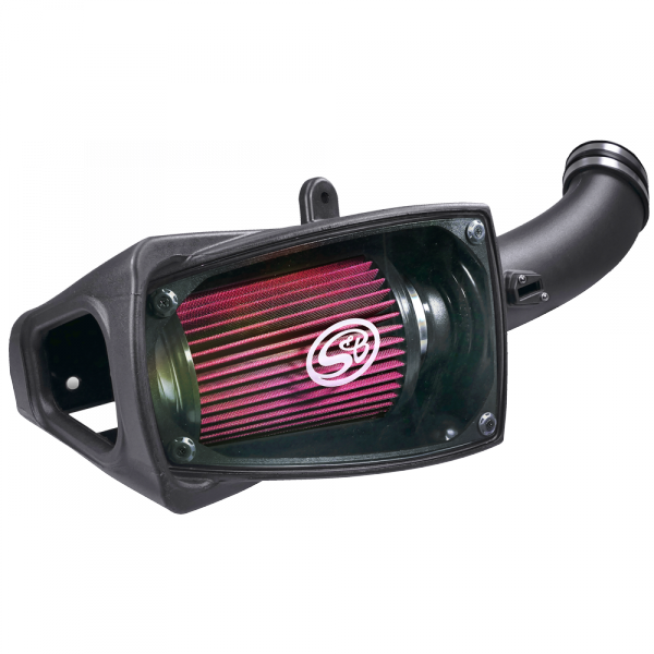 S&B - Cold Air Intake For 11-16 Ford F250 F350 V8-6.7L Powerstroke Cotton Cleanable Red S&B