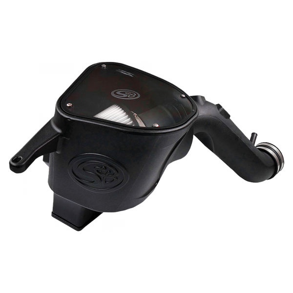 S&B - Cold Air Intake For 10-12 Dodge Ram 2500 3500 6.7L Cummins Dry Extendable White S&B