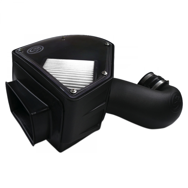 S&B - Cold Air Intake For 94-02 Dodge Ram 2500 3500 5.9L Cummins Dry Extendable White S&B