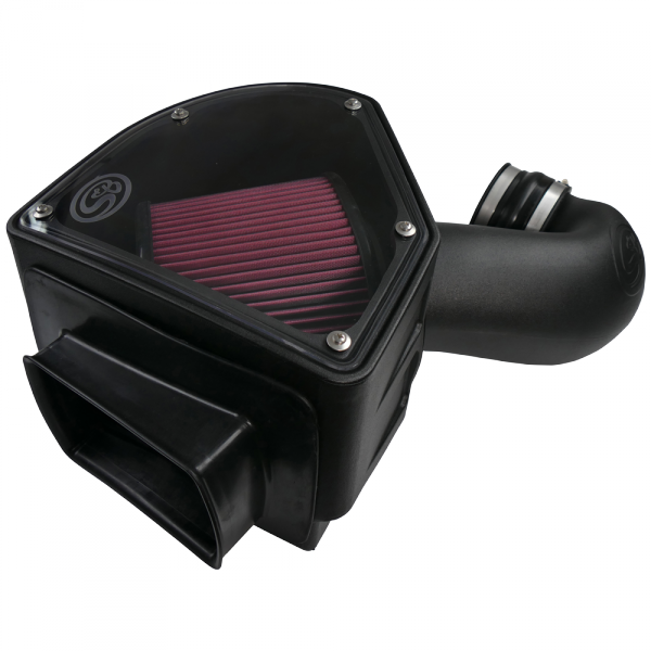 S&B - Cold Air Intake For 94-02 Dodge Ram 2500 3500 5.9L Cummins Cotton Cleanable Red S&B