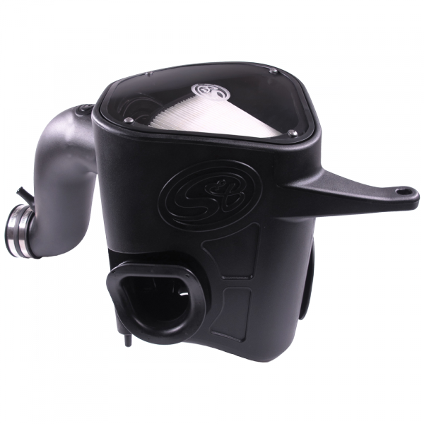 S&B - Cold Air Intake For 13-18 Dodge Ram 2500 3500 L6-6.7L Cummins Dry Extendable White S&B