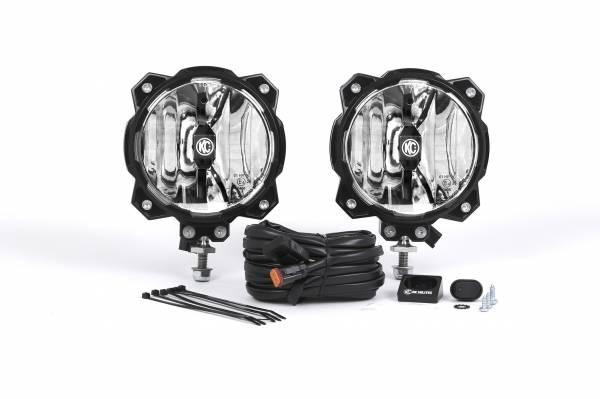 KC HiLiTES - KC HiLiTES Gravity LED Pro6 Single Spot Beam Pair Pack System – #91301 91301