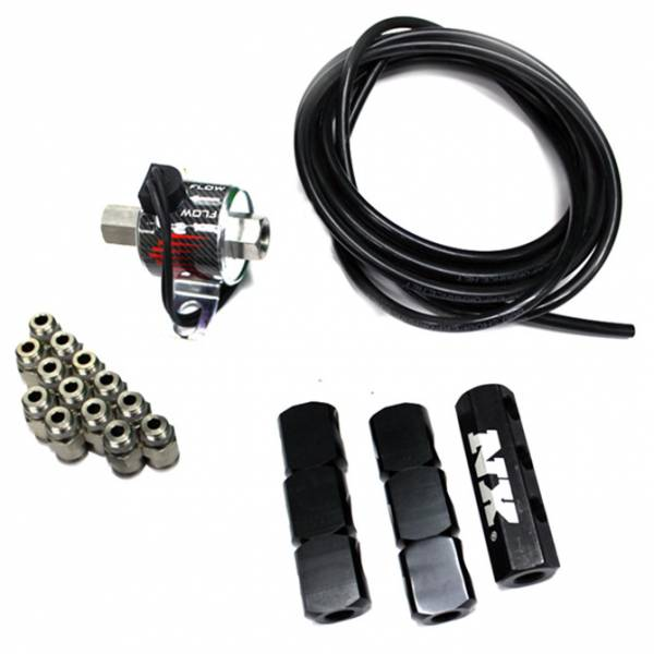 Nitrous Express - Nitrous Express Water-Methanol Direct Port 6 Cyl Upgrade Quick-Connect (Nozzles Not Included) SNO-94600