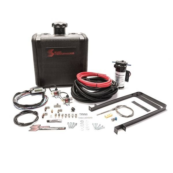 Nitrous Express - Nitrous Express Diesel Stage 3 Boost Cooler™ Water-Methanol Injection Kit RV Pusher (Red High Te SNO-560