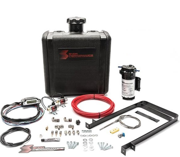 Nitrous Express - Nitrous Express Diesel Stage 3 Boost Cooler™ Water-Methanol Injection Kit Universal (Red High Te SNO-50100