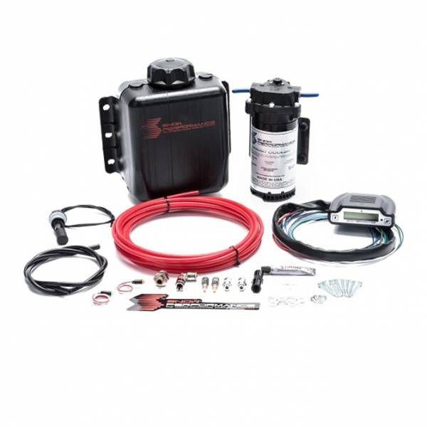 Nitrous Express - Nitrous Express Stage 3 Boost Cooler™ EFI 2D MAP Progressive Water-Methanol Injection Kit (Red H SNO-310