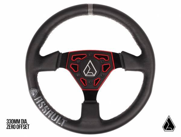 ASSAULT INDUSTRIES - **NEW** Assault Industries Navigator Leather Steering Wheel (Universal)