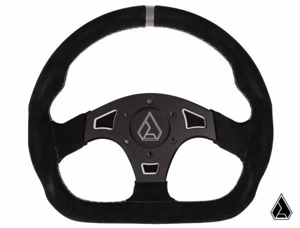 "ASSAULT INDUSTRIES - Assault Industries Suede Ballistic ""D"" Steering Wheel (Universal)"