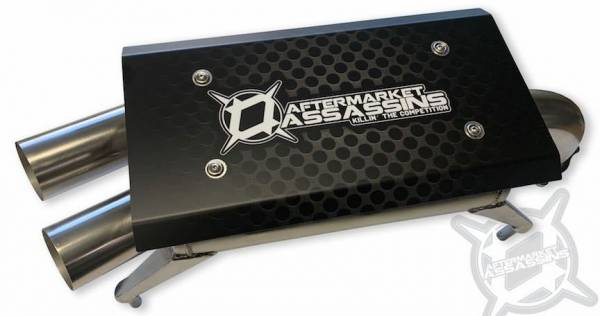 Aftermarket Assassins - AA Stainless Slip-On Exhaust for 2020 RZR Pro XP ** Build to Order**
