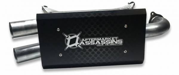 Aftermarket Assassins - AA Stainless Slip-On Exhaust for 2016-20 RZR XP Turbo **Build to Order**