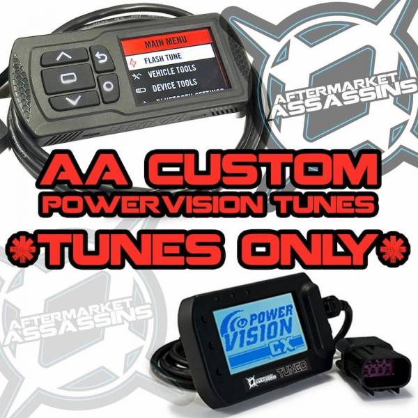Aftermarket Assassins - 2016 RZR XP Turbo AA Custom Tunes for Powervision with BIG INJECTORS