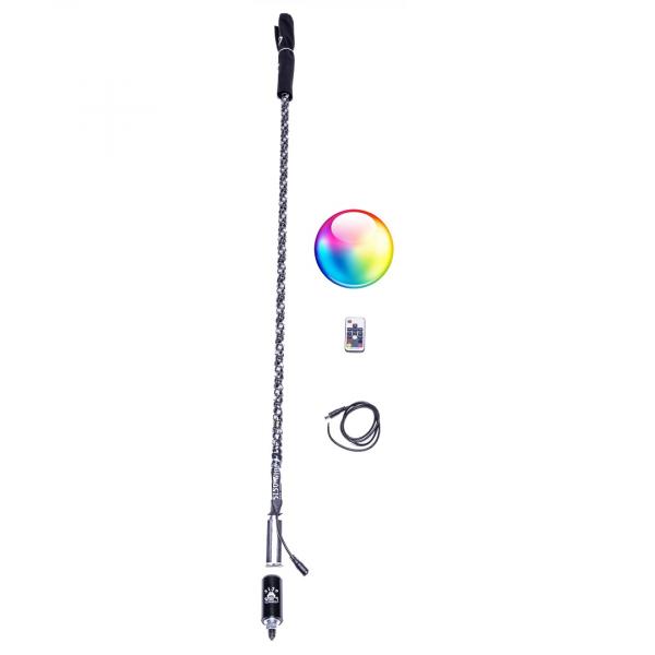 5150 Whips - SINGLE 4FT REMOTE LED WHIP
