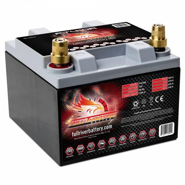 Full Throttle Battery - FT410L High-Performance AGM Battery