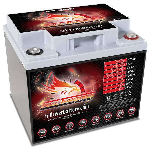 Full Throttle Battery - FT560 High-Performance AGM Battery