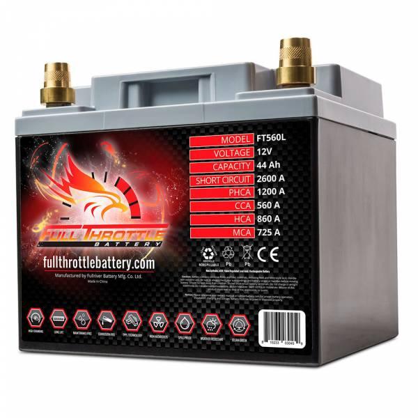 Full Throttle Battery - FT560L High-Performance AGM Battery