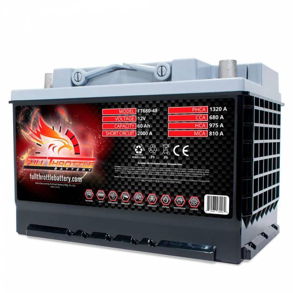 Full Throttle Battery - FT680-48 High-Performance AGM Battery