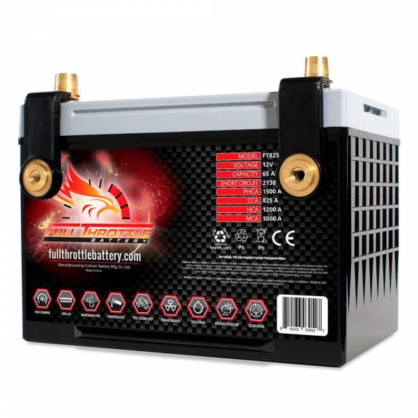 Full Throttle Battery - FT825-78 High-Performance AGM Battery