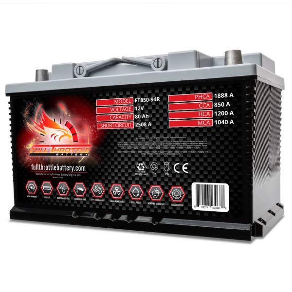Full Throttle Battery - FT850-94R High-Performance AGM Battery