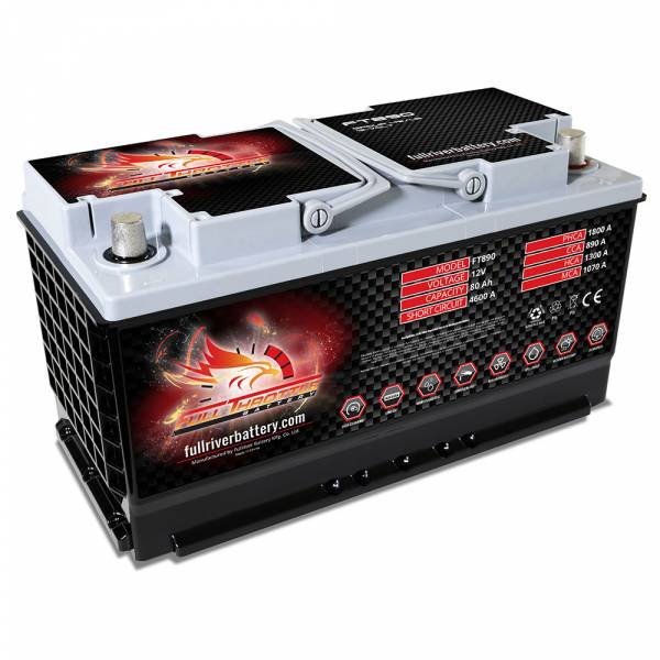 Full Throttle Battery - FT890-49 High-Performance AGM Battery