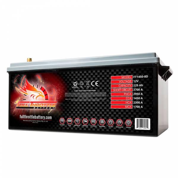 Full Throttle Battery - FT1450-8D High-Performance AGM Battery