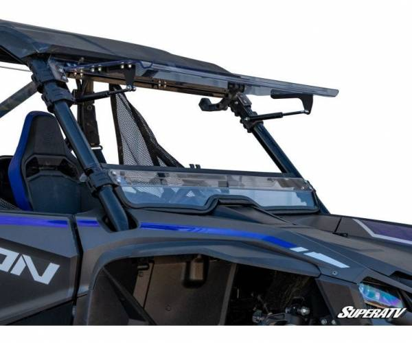 SuperATV  - Honda Talon 1000 Scratch Resistant Flip Windshield