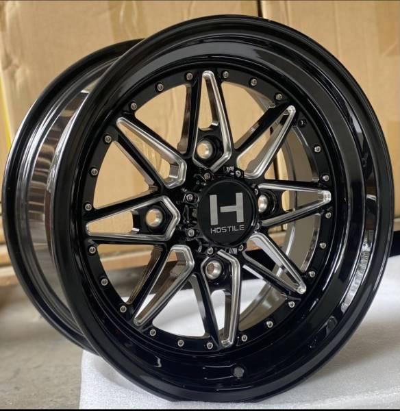 Hostile Wheels - Hostile Wheels Blaster UTV Forged