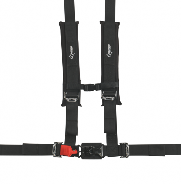Amped Off-Road - 4.2 Latch & Link UTV Off-Road Harness w/Removable Pads (Colors Available)