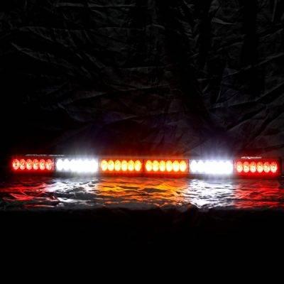 "Rear Light Bar Store - Baja Sur – Dual Color LED Rear Chase 36"" Light Bar (RBWAABWR)"