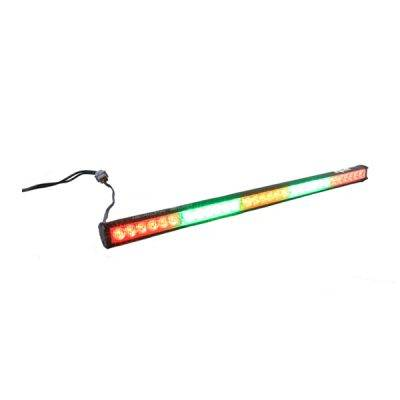 "Rear Light Bar Store - Rear Chase Light 30"" LED Light Bar – Baja Sur Dual Color (Green/White)"