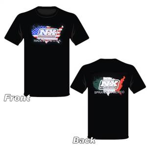 Nitrous Express Large Sprayed in Mexico T-Shirt 19115L