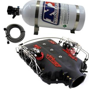 Nitrous Express - Nitrous Express MSD AIRFORCE MANIFOLD FOR 2014-UP LT1 ENGINES W/NX DIRECT PORT INTAKE035 - Image 1