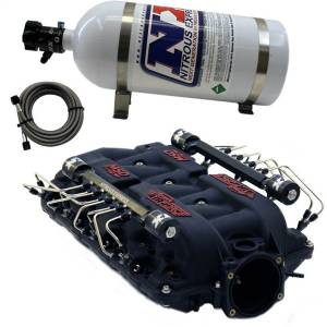 Nitrous Express - Nitrous Express MSD AIRFORCE MANIFOLD FOR CATHEDRAL PORT HEADS W/VXL DIRECT PORT INTAKE005 - Image 1