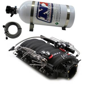 Nitrous Express - Nitrous Express FAST 102 MANIFOLD FOR CATHEDRAL PORT HEADS W/NX SHARK DIRECT PORT INTAKE001 - Image 1