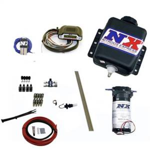Nitrous Express Direct Port Water Methanol; 4 Cylinder Stage 3; w/Hardlines 15130H