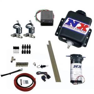Nitrous Express Direct Port Water Methanol; 8 Cylinder Stage 2 w/Hardlines 15127H
