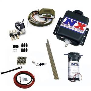 Nitrous Express Direct Port Water Methanol; 6 Cylinder Stage 3 w/Hardlines 15131H