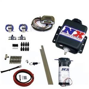 Nitrous Express Direct Port Water Methanol; 8 cylinder stage 3; w/Hardlines 15132H