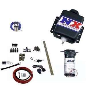 Nitrous Express Direct Port Water Methanol; 4 cylinder stage 1 w/Hardlines 15120H