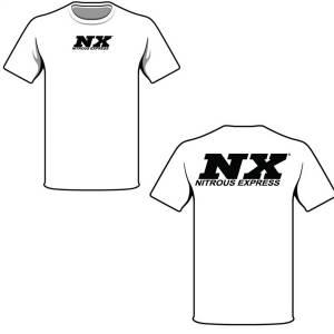 Nitrous Express - Nitrous Express XXX-LARGE WHITE T-SHIRT W/BLACK NX 16517 - Image 1