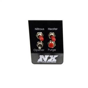 Nitrous Express Custom Switch Panel; 2014-UP C7 Corvette 15790