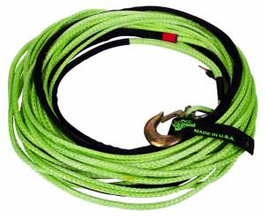 Winch Rope Jeep/Truck 3/8 Inch x 80 Foot Green VooDoo Offroad